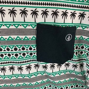 PacSun Shirts - Pacsun Men's Size M Green Black Graphic Tee